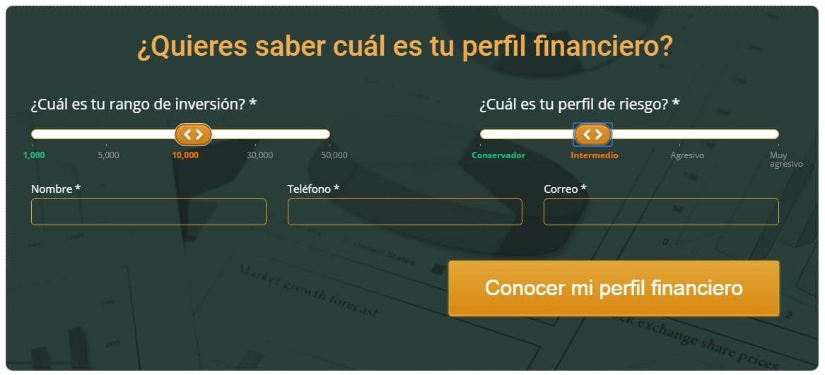 Descubre tu perfil financiero